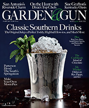 February/March 2014: Classic Southern Drinks | Garden And Gun